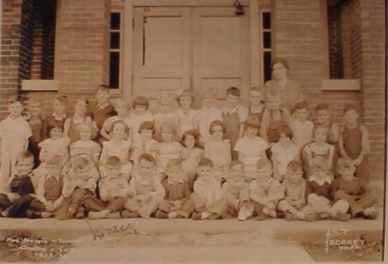Galveston School first and second graders of the 1935-36 School Year