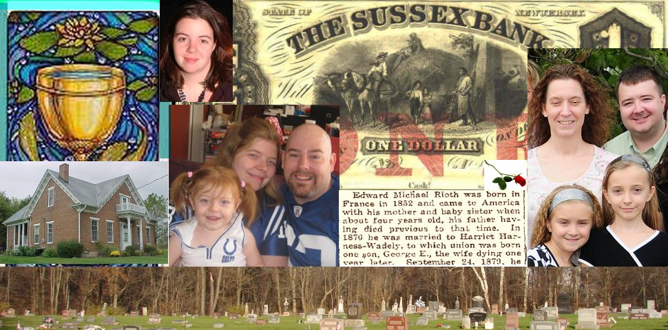 Ed and Debby's family banner