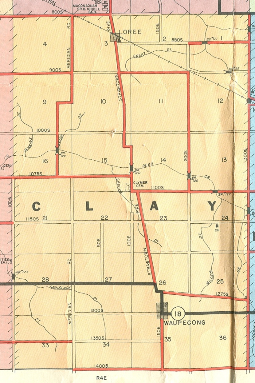 Geography Towns And Maps Miami County Indiana Genealogy - Map of miami county indiana